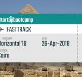 ستارت أب بوت كامب: Cairo Fast Track