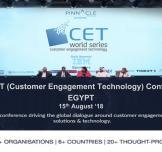 يعود مؤتمر إشراك العملاء التكنولوجي (CET Conference) هذا العام بسبل وتقنيات جديدة
