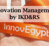 Training Kit for Innovation & Technology Management – InnovEgypt Program by IKD&RS