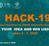 Hack-19 Regional Hackathon