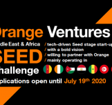 Orange Ventures Launches the MEA Seed Challenge to Finance Entrepreneurs and Startups in the Middle East and Africa