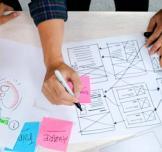 ورشة عمل حول خلق حلول جديدة من خلال التفكير التصميمي
