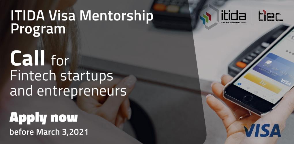 Calling Fintech Startups to Join ITIDA - Visa Mentorship Program in Egypt