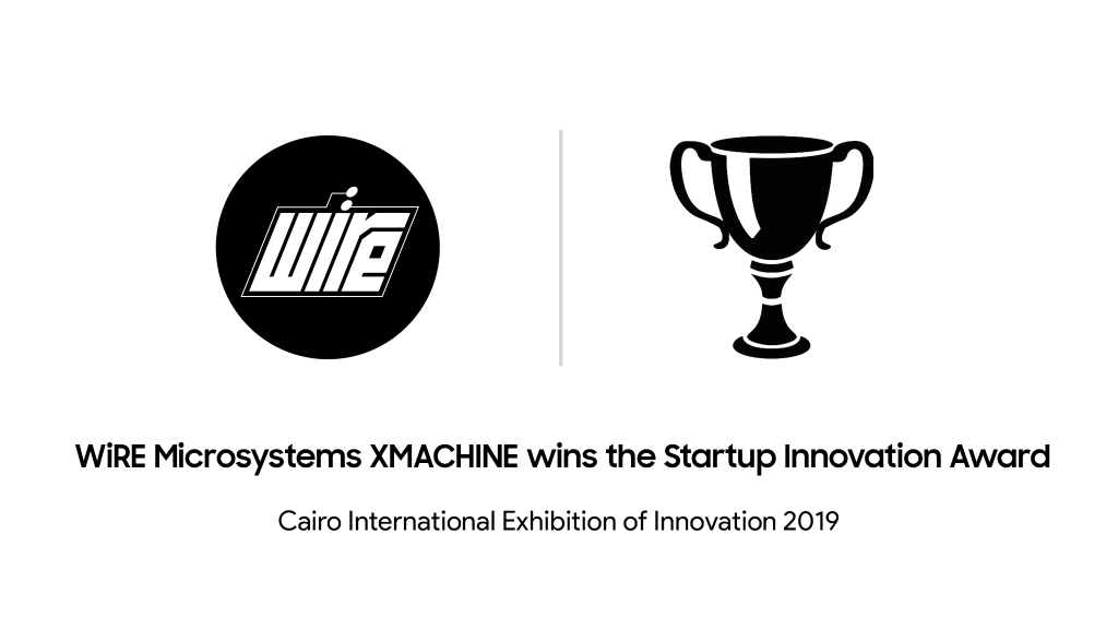 XMACHINE wins Cairo's International Exhibition of Innovation Award
